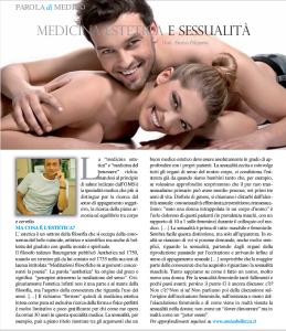Medicina estetica e sessulità - Articolo su Amica bellezza