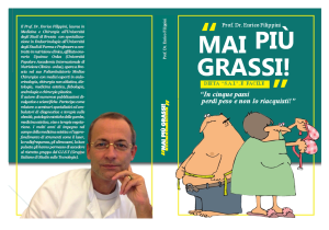 Mai più grassi - Libro del Prof. Enrico Filippini
