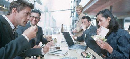 Seguire una dieta sana durante il lavoro