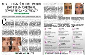 No al lifting, si al trattamento soft per un aspetto più giovane senza mostruosità - articolo su ProfiloSalute