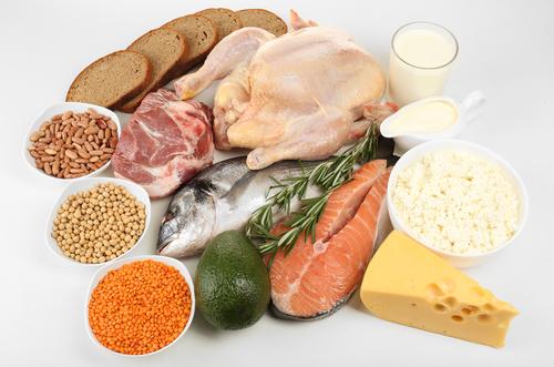 dieta con proteine